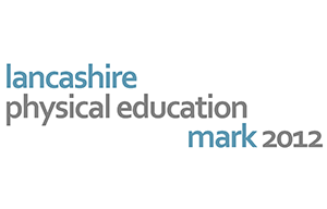 Lancashire Physical Education Mark 2012 Logo
